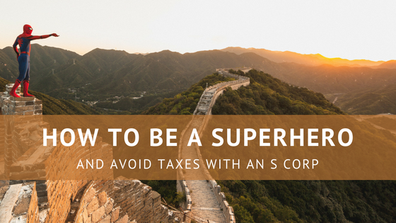 how to avoid taxes with an s corp